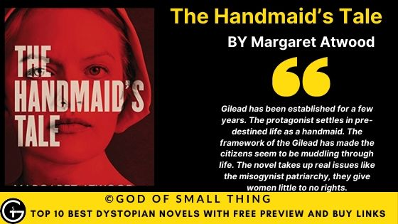 Best Dystopian Books: The Handmaid's Tale book review