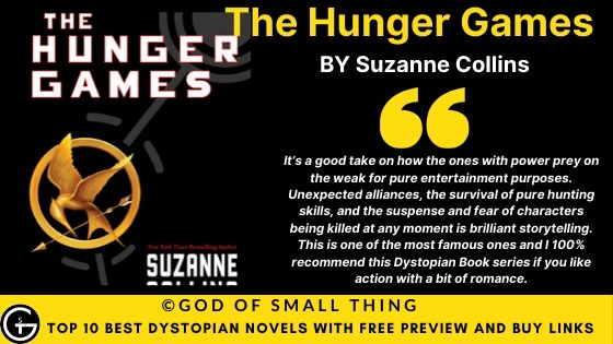 Best Dystopian Books: The Hunger Games book