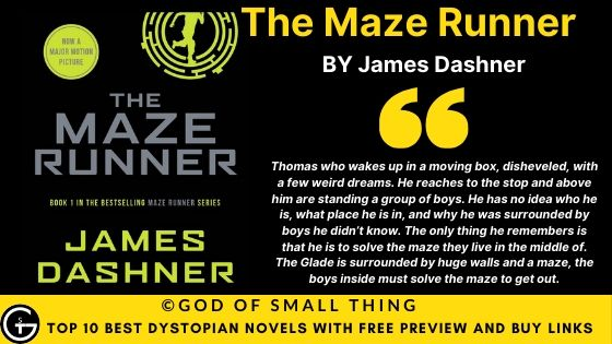 Best Dystopian Books:The Maze Runner book review