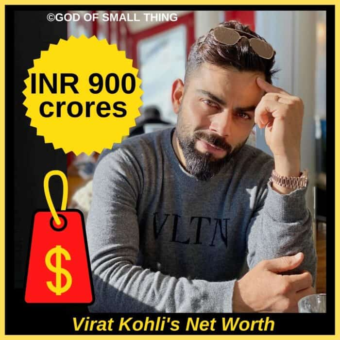 Virat Kohli's Net Worth