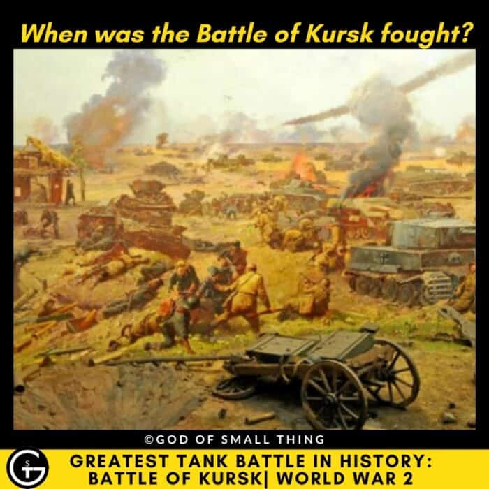 When was the Battle of Kursk fought?