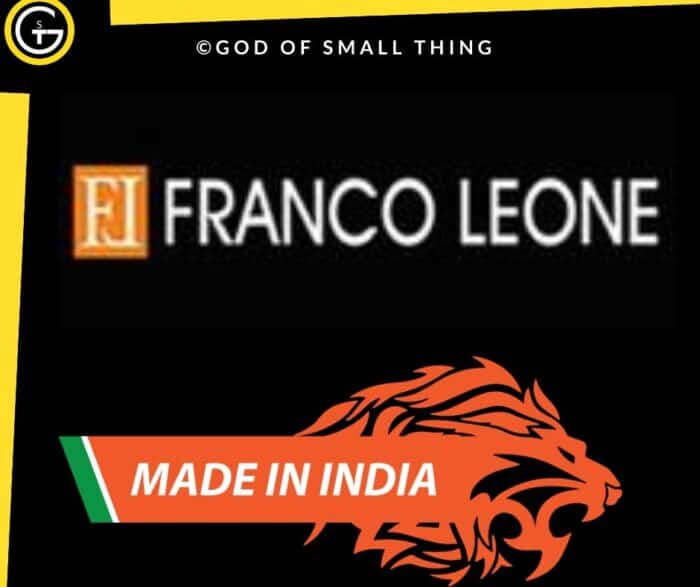 Best Indian footwear brands Franco Leone