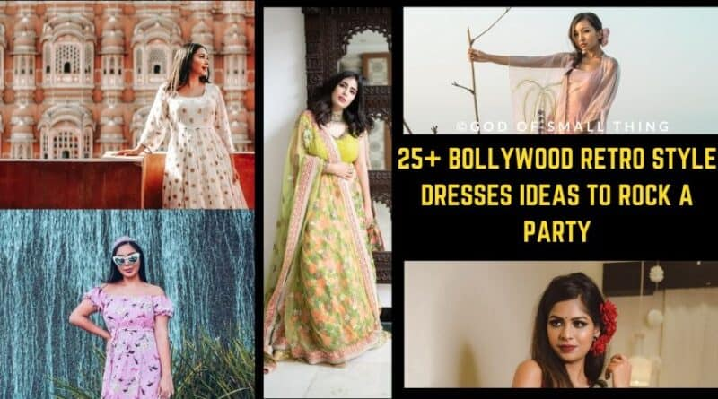 Bollywood Retro Style Dresses