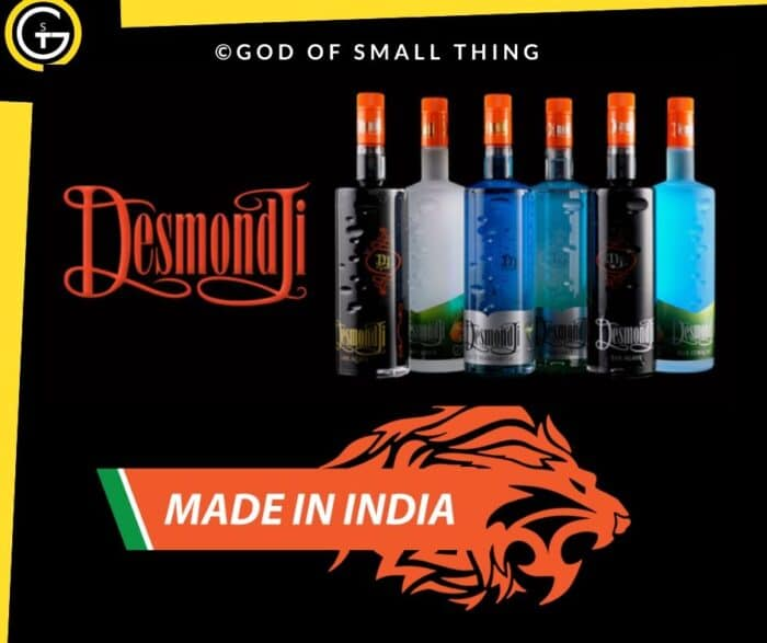 Indian Liquor Brands DesmondJi