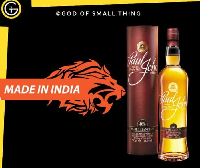 Indian Liquor Brands Paul John Single Malt