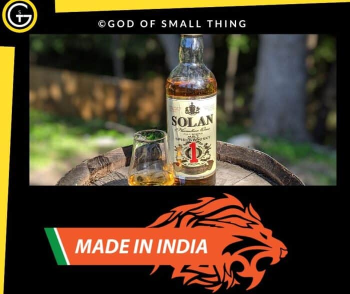 Indian Liquor Brands Solan No.1