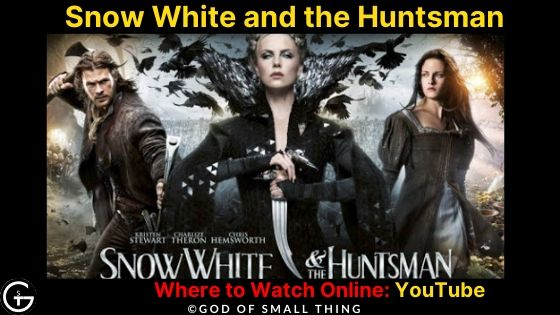 Watch Snow White and the Huntsman Movie on YouTube