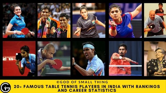 Table Tennis Players in India