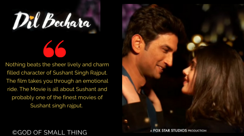 Dil Bechara Review