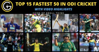 Fastest Fifties in ODI Cricket