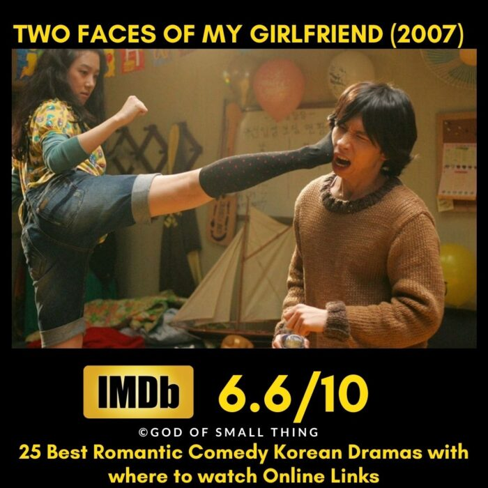 Two Faces of My Girlfriend Romantic Comedy Korean