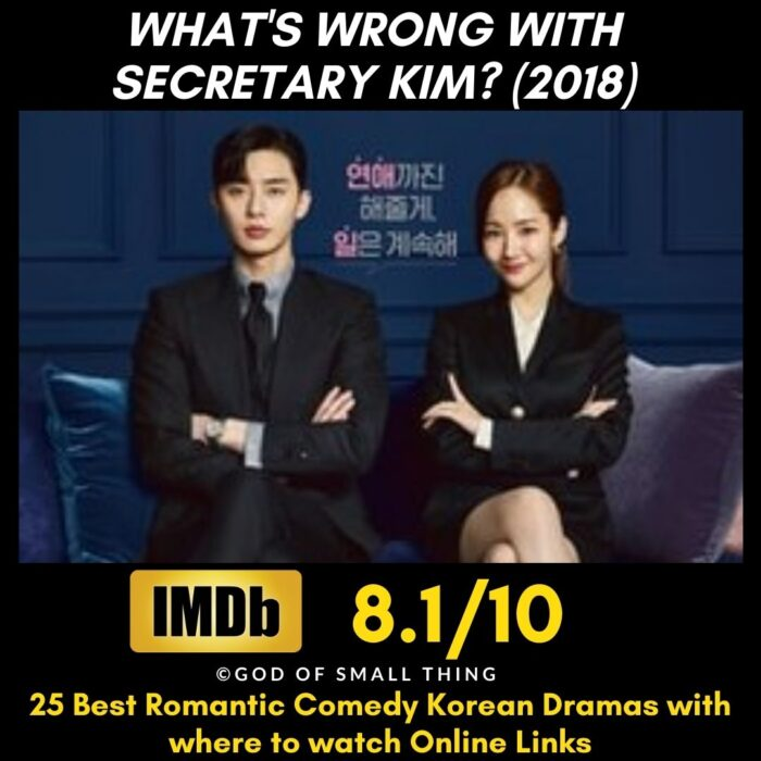 What's Wrong With Secretary Kim Comedy K-Dramas