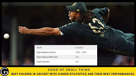 Best Fielders in Cricket: Andrew Symonds
