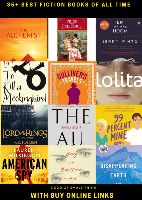 Best fiction books to read before you die