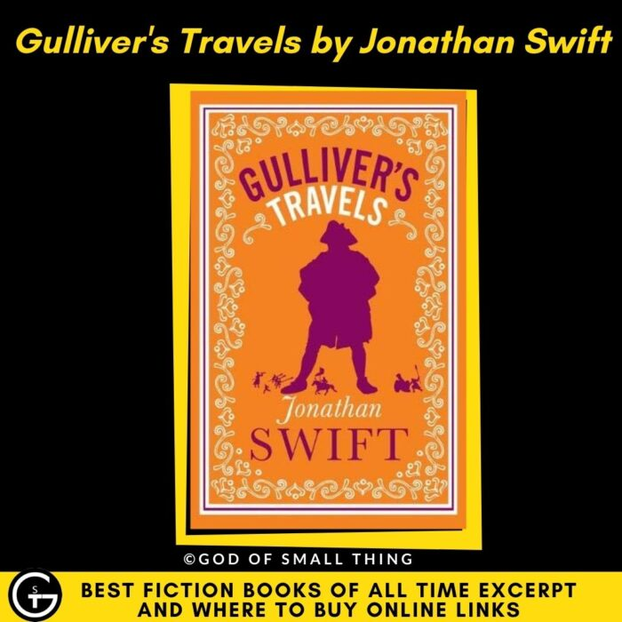 Best fiction books: Gulliver's Travels by Jonathan Swift