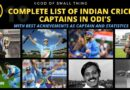 List of captains of Indian cricket team
