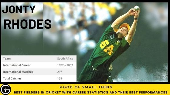 Best Fielders in Cricket: Jonty Rhodes fielding