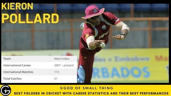 Best Fielders in Cricket: Kieron Pollard