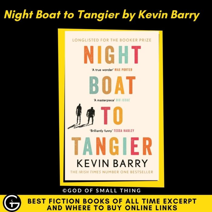 Night Boat to Tangier by Kevin Barry