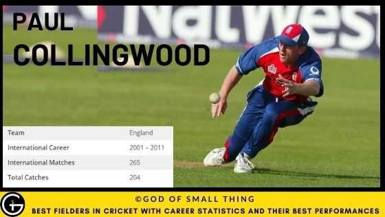 Best Fielders in Cricket: Paul Collingwood