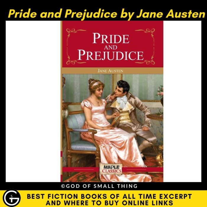 Best fiction books of all Time: Pride and Prejudice by Jane Austen