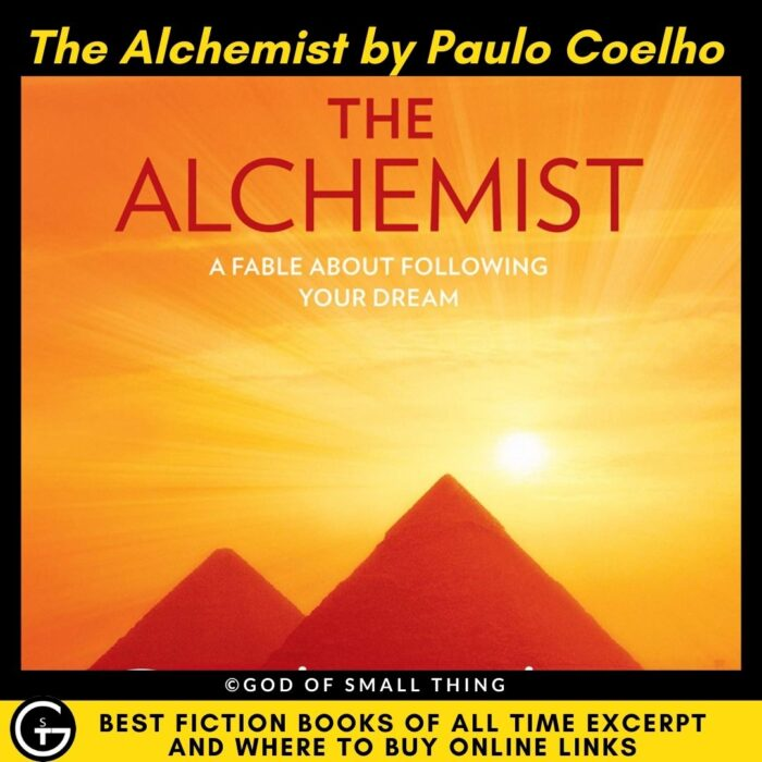 Best fiction books of all Time: The Alchemist by Paulo Coelho