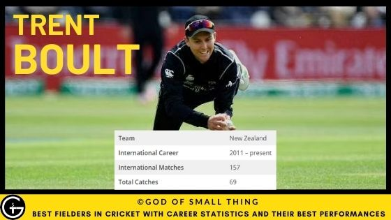 Best Fielders in Cricket: Trent Boult