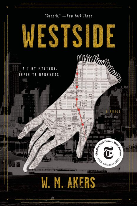 Westside Fiction Book by W.M Akers