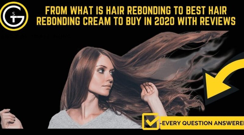 hair rebonding Creams