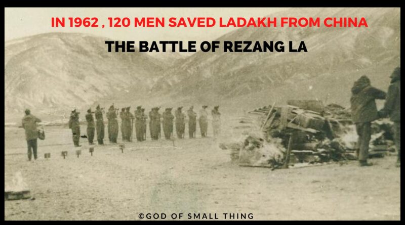 Battle of Rezang la