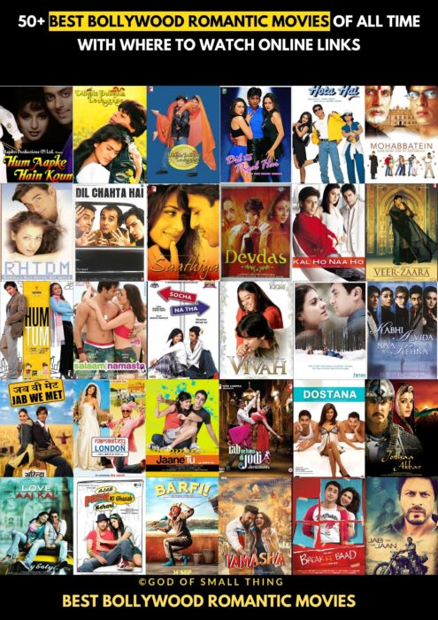 Best Bollywood Romantic Movies