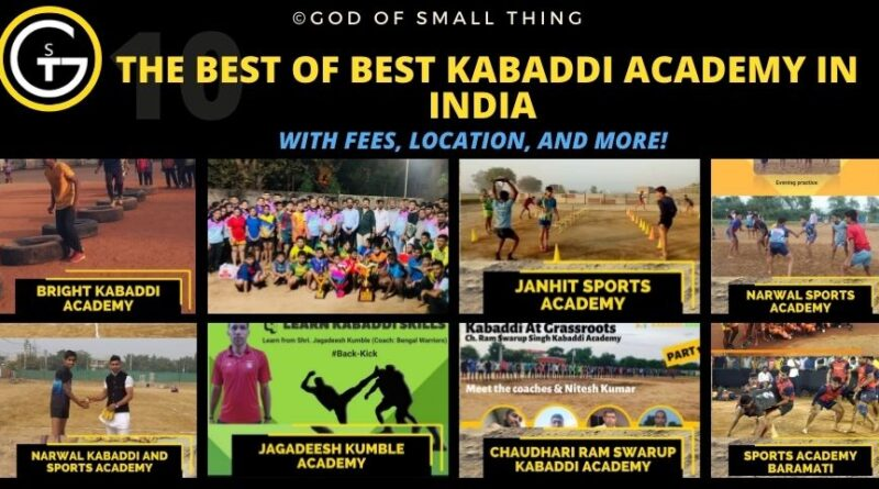 Best Kabaddi Academy in India