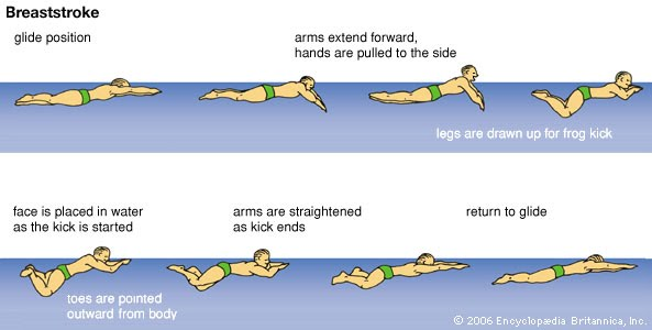 How to perform Breaststroke swimming styles