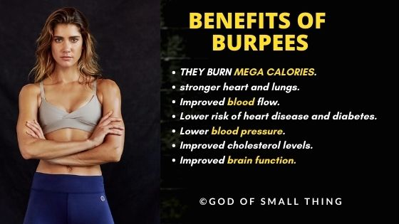 Burpees for weight loss cardio workout