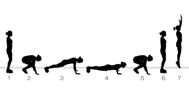 Burpees for weight loss