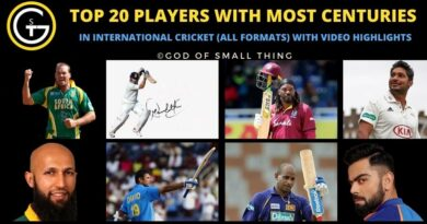 Most centuries in cricket all formats