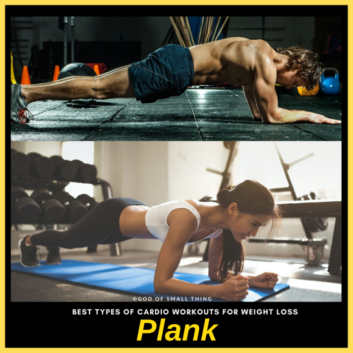 Plank workout for weight loss