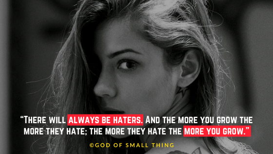 dear haters quote