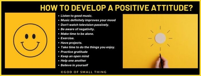 How to think positive in bad mood