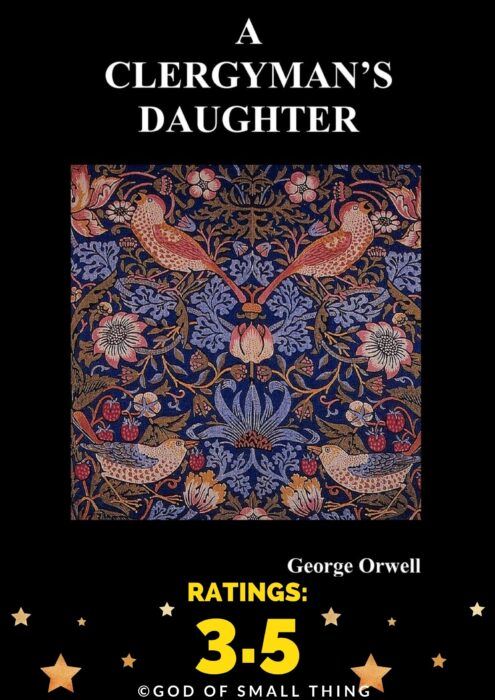 Best george orwell books A Clergyman's Daughter by George Orwell