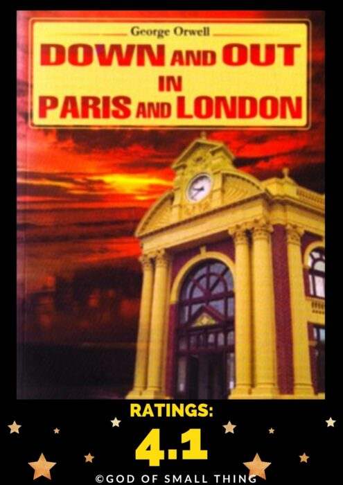 Books by george orwell: Down and out in Paris and London by George Orwell