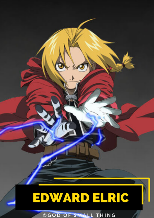 Edward Elric male anime characters