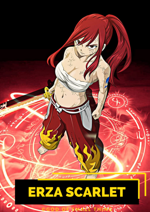 Erza Scarlet top anime characters