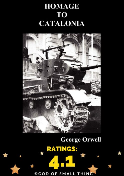 George Orwell Best book Homage to Catalonia