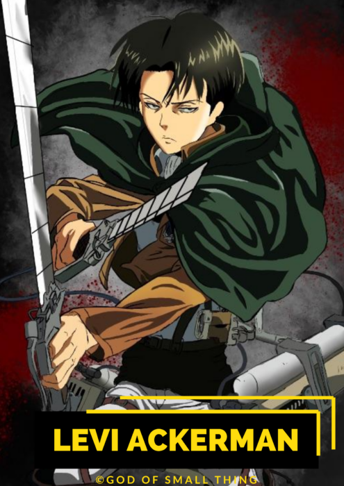 Levi Ackerman Best anime characters