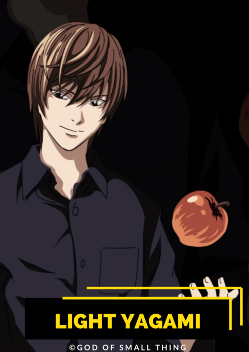 Light Yagami best anime characters