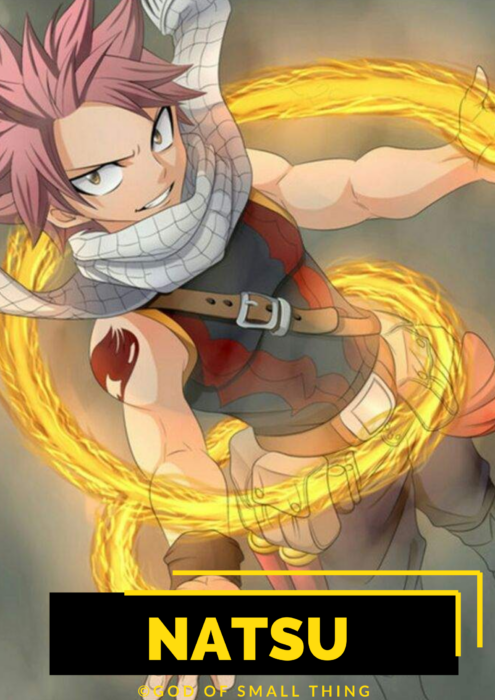 Natsu Best anime characters