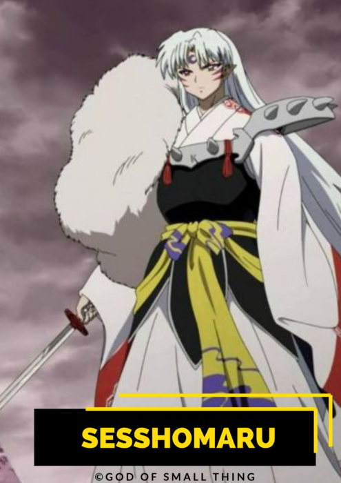 Sesshomaru best anime characters