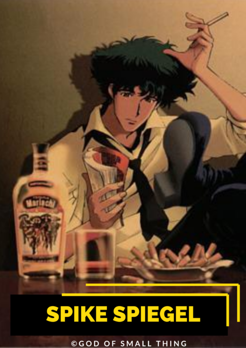 Spike Spiegel Anime Character