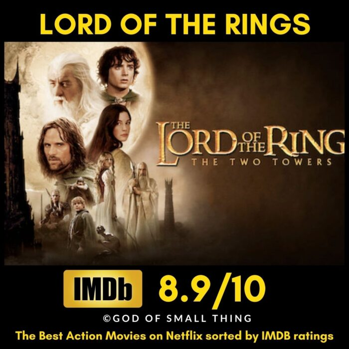 Best Action movies on Netflix Lord of the Rings